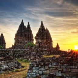 Indonesië-Hoogtepunt1-Jogjakarta Prambanan