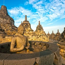 Indonesië-Java-Borobudur