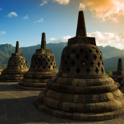 Indonesië-Java-Borobudur2