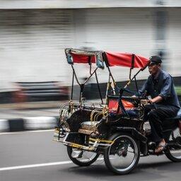 Indonesië-Java-Jogjakarta-Excursie-Jogjakarta-city-tour-per-becak-3