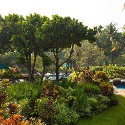 Indonesië-Java-Yogyakarta-Hyatt-Regency-tuin