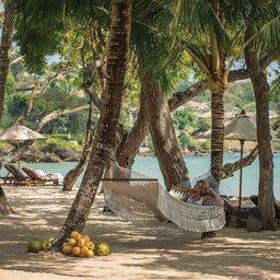 Indonesië-Jimbaran-Four-Seasons-Resort-hammock-beach