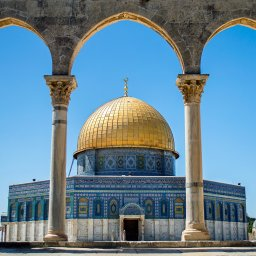 Israël-Jeruzalem-hoogtepunt-dome of the rock