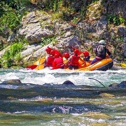 Italië-Basilicata-Excursie-Rafting-Lao-River