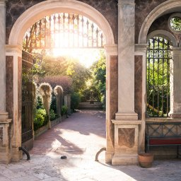 Italie-Basilicata-Palazzo-Margherita-tuin