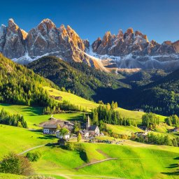Italië - Dolomieten - Santa Maddalena
