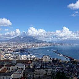 Italië-Napels-luchtfoto
