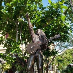 Jamaica-Bob Marley Statue 3