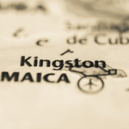Jamaica-kingston map