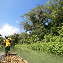 Jamaica-Martha Brae Rafting