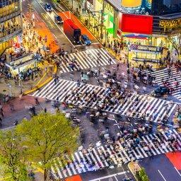 Japan-Tokyo-Hoogtepunt-kruispunt