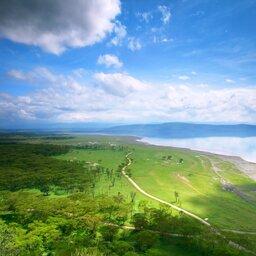 Kenia-Lake Nakuru-hoogtepunt