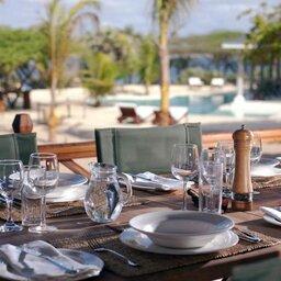 Kenia-Lamu-Majlis Resort-diner detail
