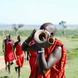 Kenia-Masai krijger-hoogtepunt