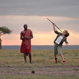 Kenia-Masai Mara-Elephant Pepper Camp-cultuur Masai