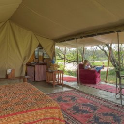 Kenia-Ol Pejeta-Ol Pejeta Bush Camp-kamer