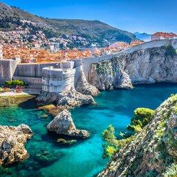 Kroatië - Dubrovnik - klif