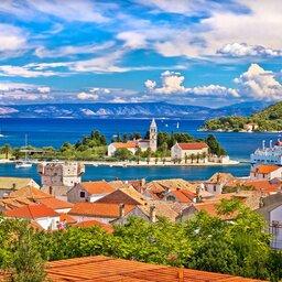 Kroatië - Vis waterfront - Dalmatia