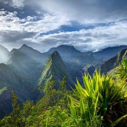 La Reunion-algemeen-overzichtsshot