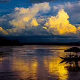 Laos-Champasak-The River Resort