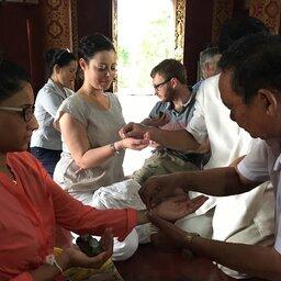 Laos-Luang-Prabang-Baci-ceremonie