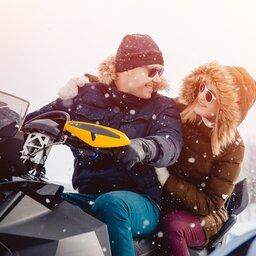 Lapland - Sneeuwscooter  (6)