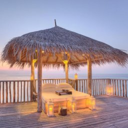 Malediven-Gili-Lankanfushi-buitenbed