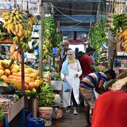 Malediven-Malé-markt