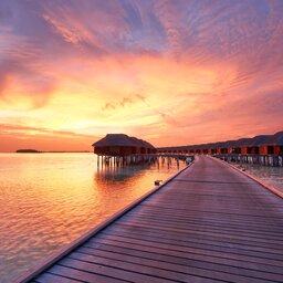 Malediven-watervilla's