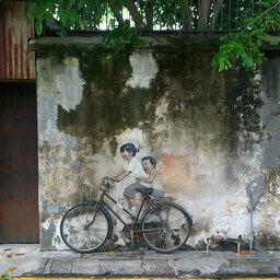 Maleisie-Georgetown-hoogtepunt-street art