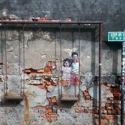 Maleisie-Georgetown-hoogtepunt-street art1