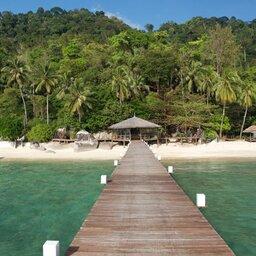 Maleisië-oostkust-Japamala-Resort-steiger-2