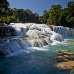 Mexico - Agua Azul falls