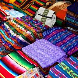 Mexico-lokale markt kleuren