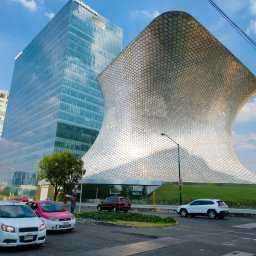 Mexico - Mexico city - The modern Soumaya museum of art in Mexico City