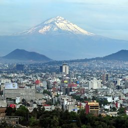 Mexico - Popocatepetl vulkaan - Mexico city