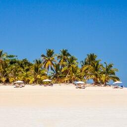 Mozambique-paradijselijk strand