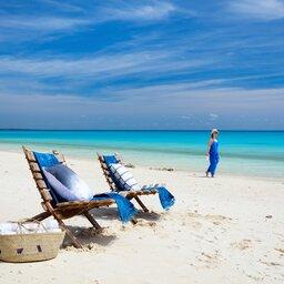 Mozambique-stranden dame