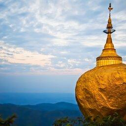 Myanmar-algemeen-tempelrots