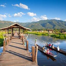 Myanmar-Inle meer-hoogtepunt-drijvende tuin