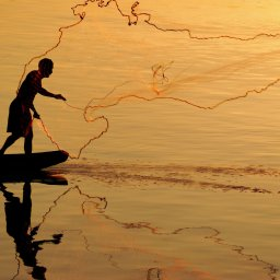 Myanmar-Inle meer-hoogtepunt-visser