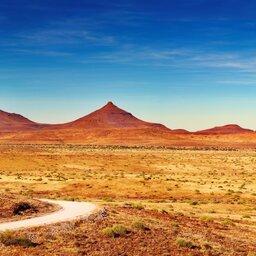Namibië-Damaraland-hoogtepunt