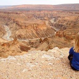 Namibië-Fish River Canyon-hoogtepunt