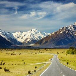 Nieuw-Zeeland - Southern Alps