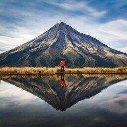 Nieuw-Zeeland - taranaki volcano
