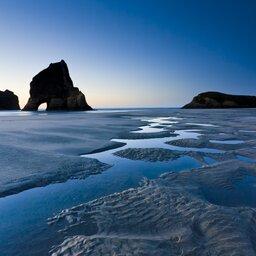 Nieuw-Zeeland - Wharariki Beach - Nelson - North Island