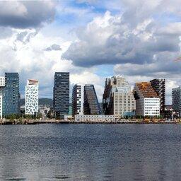 Noorwegen-Oost-Noorwegen-streek-Oslo-skyline