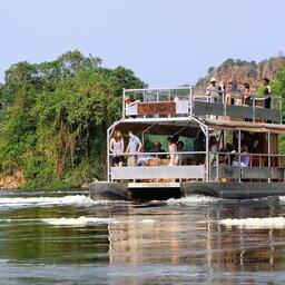 Oeganda-Murchison Falls-boot