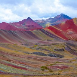 Peru - Rainbow Mountains (3)