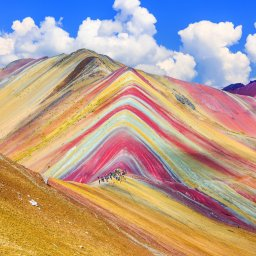 Peru - Vinicunca, Cusco Regio, Rainbow Mountain